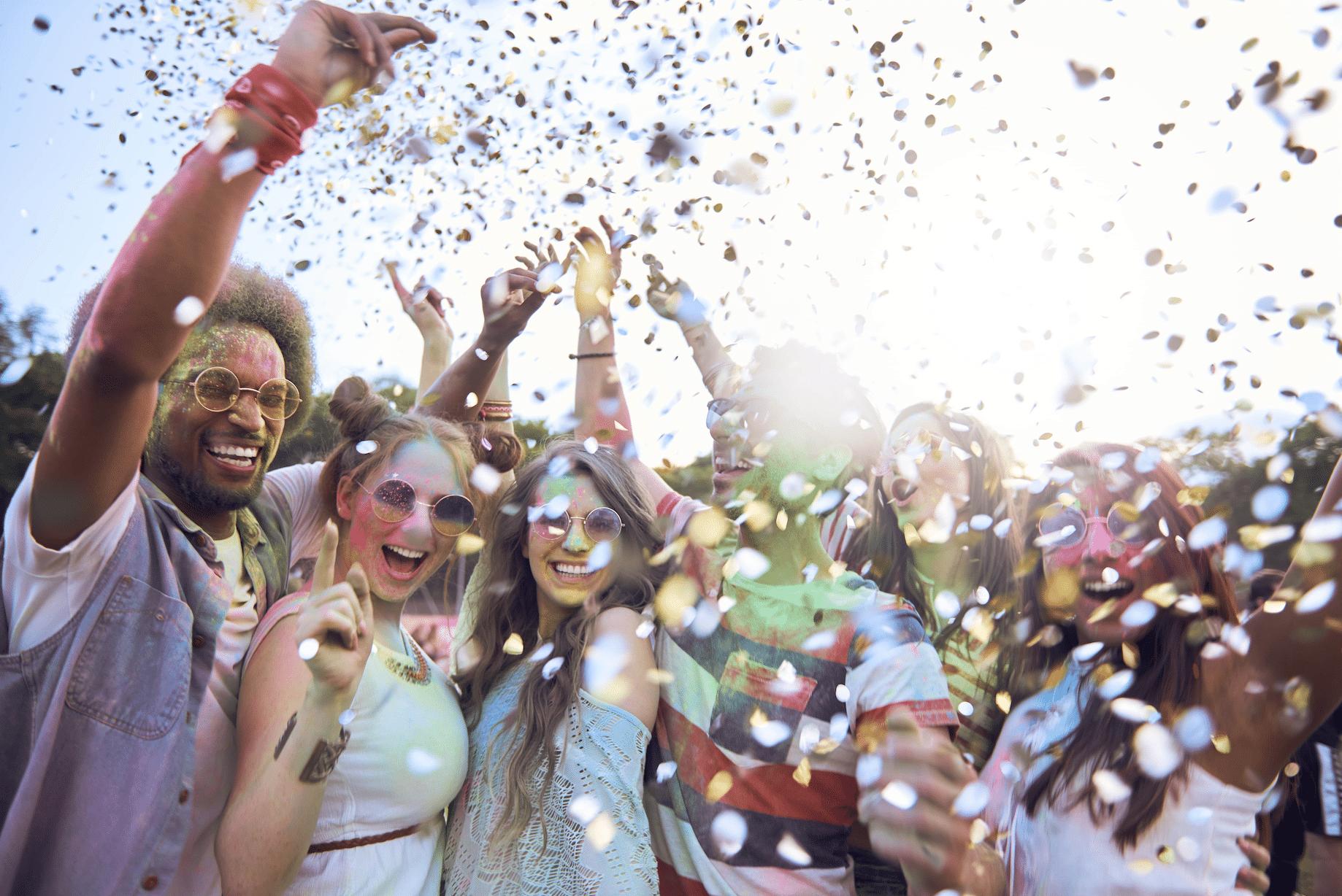 Alkohol Party Festival Feiern gute Laune