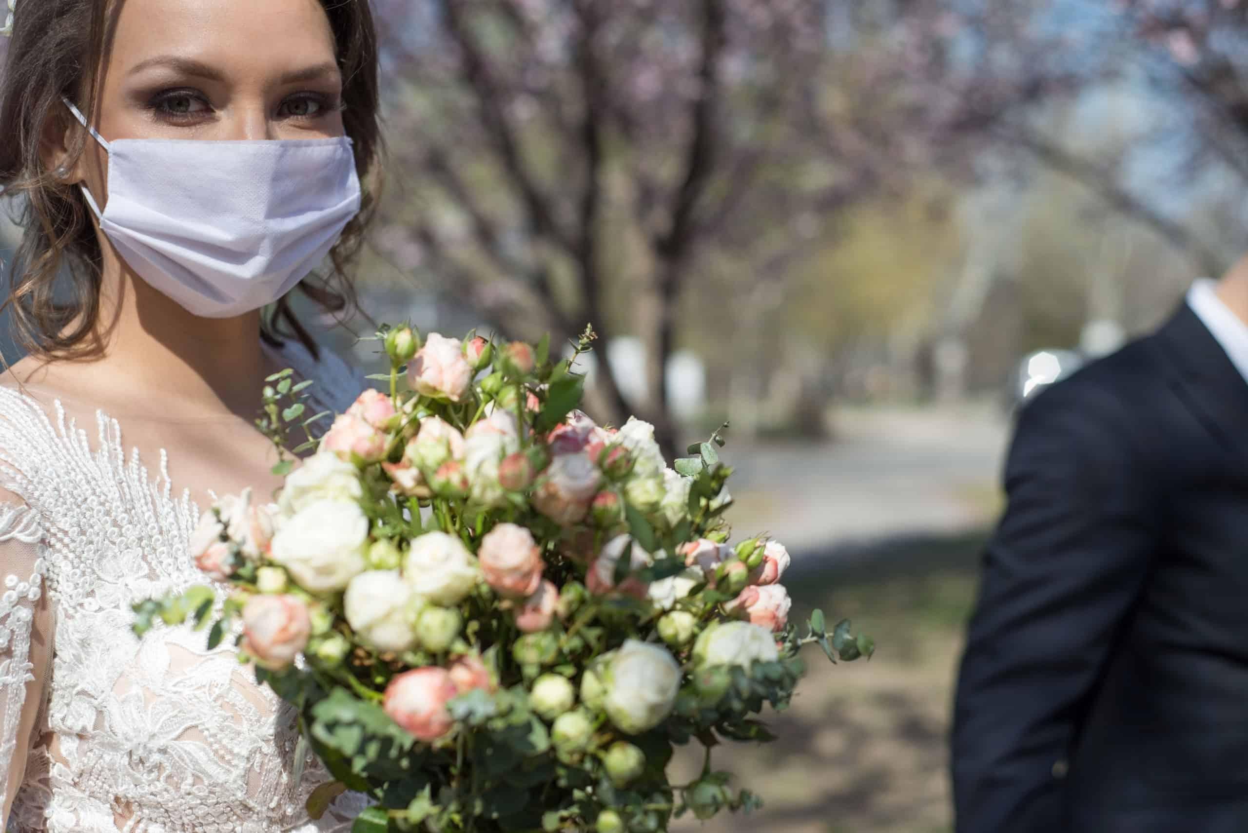Corona, Hochzeit, Gastgeschenke, Geschenke, Braut, Bräutigam