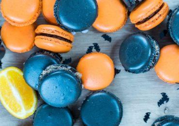 Halloween Party Gruseln Gruselig Macarons