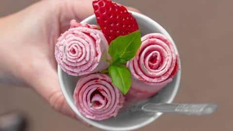 Eis Erfrischung Blume Schön Optik Essen